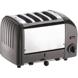 Dualit 4 Slice Vario Toaster Charcoal 40348