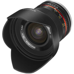 Samyang 12mm F2.0 NCS CS Lens for Fujifilm X Mount Black