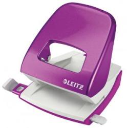 Leitz Wow 2 Hole Punch Purple