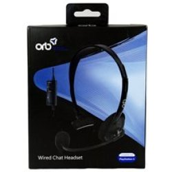 Playstation 4 Mobile Wired Chat Headset Orb (PS4)