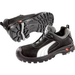 PUMA Safety Cascades Low 640720 44 Protective footwear S3 Size 44 Black White 1 Pair