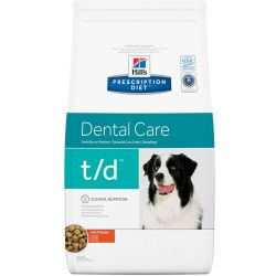 Hills Prescription Diet TD Dental Care Chicken Dry Dog Food 10kg