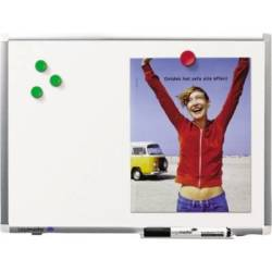 Legamaster Whiteboard (W x H) 450 mm x 300 mm White Enamel coated Incl. tray Incl. markers