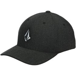 Volcom Full Stone Hthr Xfit Cap charcoal heather