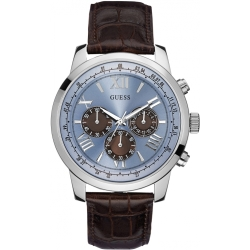 Mens Guess Horizon Chronograph Watch W0380G6