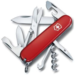 Victorinox Climber 1.3703 Swiss army knife No. of functions 14 Red (transparent)