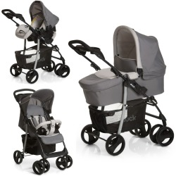 Hauck Shopper SLX Trio Set 3 in 1 Travel System Stone Grey