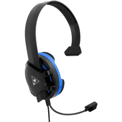 TURTLE BEACH Recon Chat Gaming Headset Black Blue Black