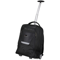 Lightpak Master Laptop Backpack with Trolley Nylon Capacity 17in Black