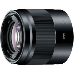 Sony E 50mm F 1.8 OSS Lenses Black