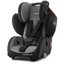 Recaro Young Sport Hero Group 1 2 3 Car Seat Carbon Black Black grey