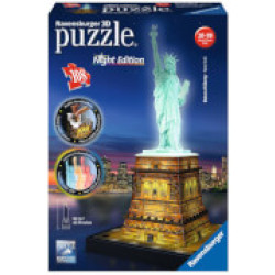 Ravensburger Statue of Liberty Night Edition 3D Puzzle (216 Pieces)