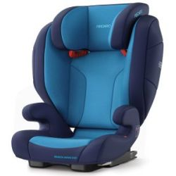 Recaro Monza Nova EVO Seatfix Group 2 3 Car Seat Blue