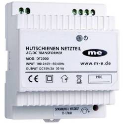 m e modern electronics 40778 Door intercom DIN rail power supply unit White