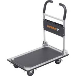 Meister Werkzeuge 8985620 Flatbed trolley folding compartment Steel Load capacity (max.) 150 kg