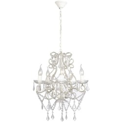vidaXL Chandelier with 2800 Crystals E14