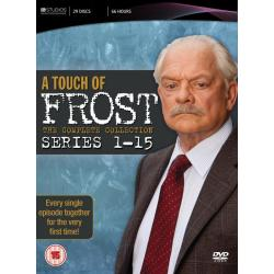 Touch Of Frost Series 1 15 DVD