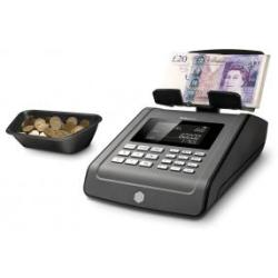 Safescan 6185 Money Counting Scale 1.2kg 151x245x154mm Black Ref