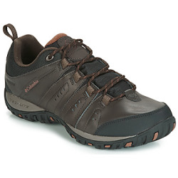 Columbia WOODBURN II WATERPROOF men's Sports Trainers (Shoes) in Brown