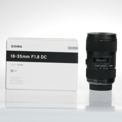 Sigma Art 18 35mm f 1.8 DC HSM Lens For Nikon Mount