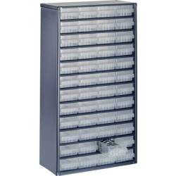 raaco 1248 01 Drawer cabinet (L x W x H) 306 x 150 x 552 mm No. of compartments 48