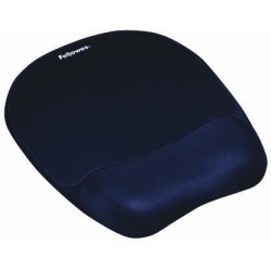 Fellowes Memory Foam Mouse Pad Wrist Rest Sapphire