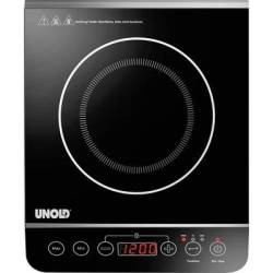 Unold Elegance 58105 Induction hob with pot size recognition Temperature pre set Timer fuction