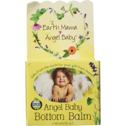 Earth Mama Angel Baby Bottom Balm Natural Diaper Cream Made with Organic Calen