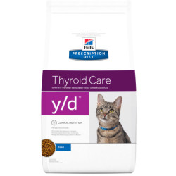 Hill's Prescription Diet Economy Packs Feline y d Thyroide Care 2 x 5kg