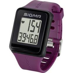 Sigma ID.GO Heart rate monitor watch with chest strap Plum