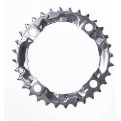 Shimano FC M410 415 Silver 32T Chainring 7 8 Speed 32T 104bcd