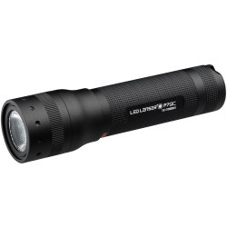LED Lenser P7QC Quad Colour LED Torch Black