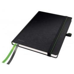 Leitz Black Complete Notebook A5 ruled with hardcover Pack of 6x