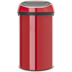 Brabantia Touch Bin 60 Litre Passion Red (Passion Red Lid)