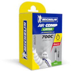 Michelin A1 Aircomp Latex Road Inner Tube 700c x 22 23mm Presta 40mm