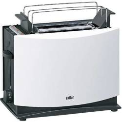 Braun HT450 Toaster with home baking attachment White Black