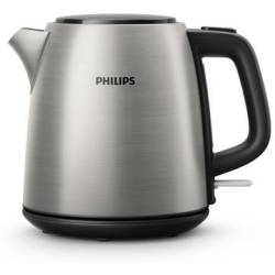 Philips Kettle cordless Stainless steel Black