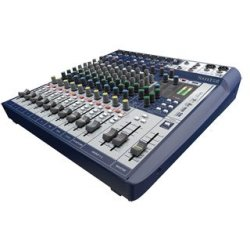 Soundcraft Signature 12 Mixing Desk with a 2 in 2 out USB interface