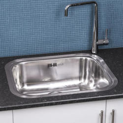 Reginox Chicago Integrated Stainless Steel Sink Single Bowl