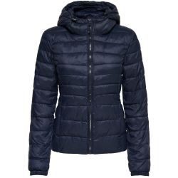 ONLY Short Quilted Jacket Women Blue