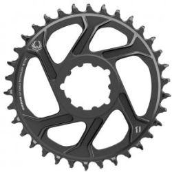 SRAM Eagle X Sync 12 Speed Direct Mount 6mm Offset Chainring 34T Black Black