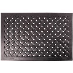 Esschert Design Rubber Doormat Rectangular Braided L RB38