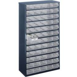 raaco 1260 00 Drawer cabinet (L x W x H) 306 x 150 x 552 mm No. of compartments 60
