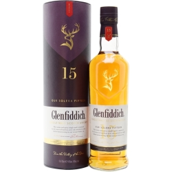 Glenfiddich 15 Year Old Solera Speyside Single Malt Scotch Whisky