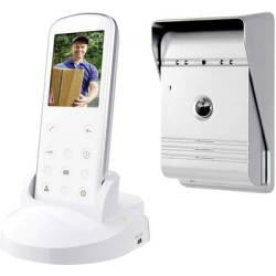 Smartwares VD36W Video door intercom Radio Complete kit Detached