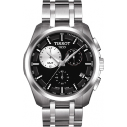 Mens Tissot Couturier GMT Chronograph Watch T0354391105100