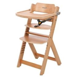 Safety 1st Timba Wooden Highchair Brown
