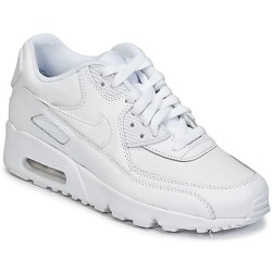 Nike Air Max 90 Leather Grade School Shoes