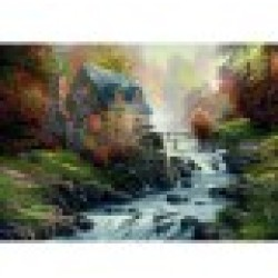 Jigsaw Puzzle 1000 Pieces The Old Mill