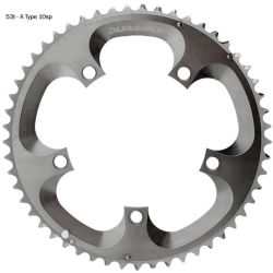 Shimano Dura Ace FC7800 Double Chainrings 39t 10 Speed Silver